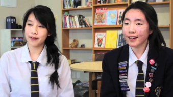 Embedded thumbnail for International Students at Rangi Ruru